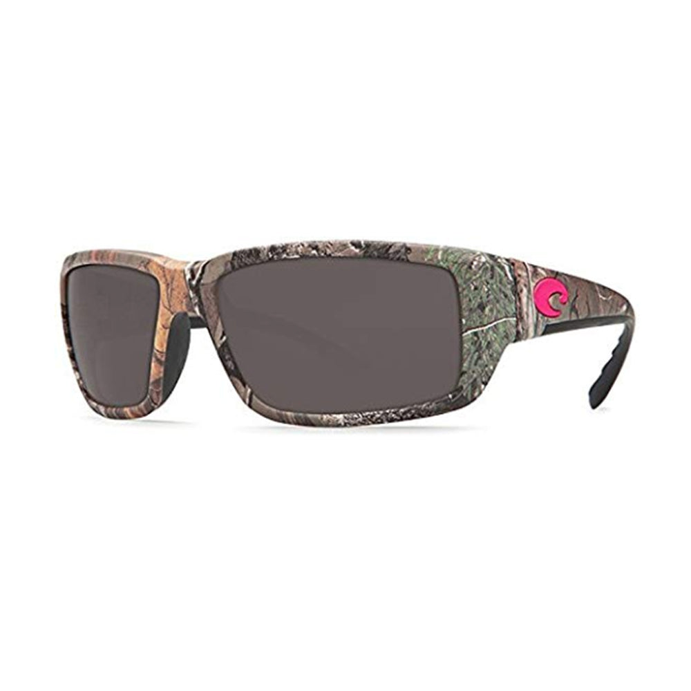 Costa Del Mar Fantail Sunglasses Realtree Xtra Camo Hot Pink logo / Gray Lenses 580G