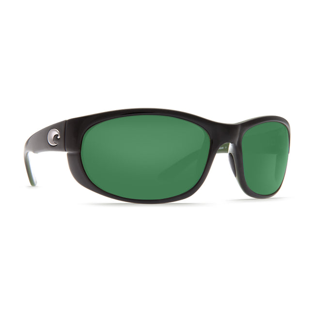 Costa Del Mar Howler Polarized Sunglasses Black/Green Mirror 580P
