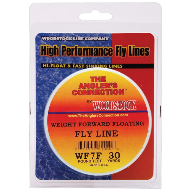 WOODSTOCK WEIGHT FORWARD FLY LINE LIME GREEN #7 30 YD