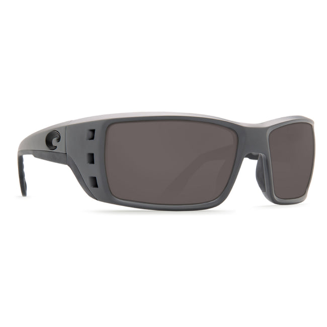 Costa Del Mar Permit Sunglasses Matte Gray / Silver Mirror 580G