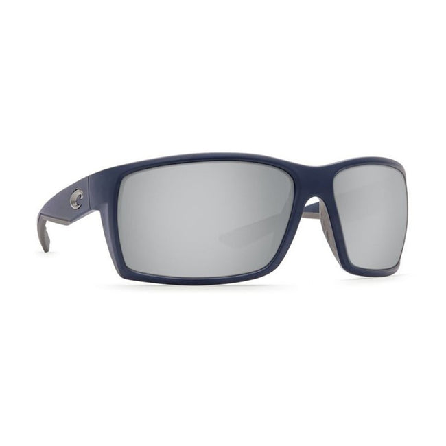 Costa Del Mar Reefton Sunglasses Matte Blue Frame Silver Mirror 580P