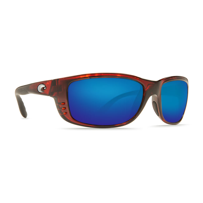 Costa Del Mar Zane Sunglasses, Tortoise, Blue Mirror 580P