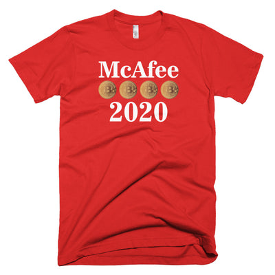 McAfee 2020 Presidential Graphic T-Shirt