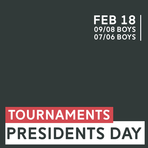 Presidents Day 7v7 Tournaments Special