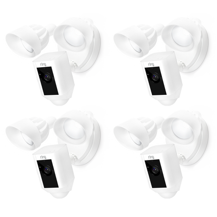 4-Pack Floodlight Cams