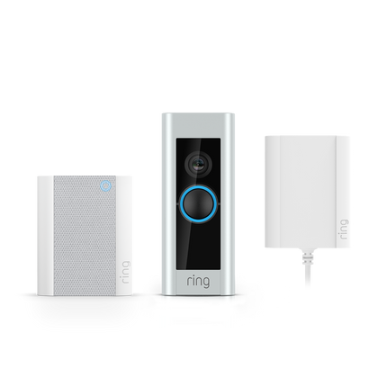 Video Doorbell Pro with Plug-in Adapter and Chime