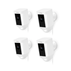 4-Pack Spotlight Cam Wired