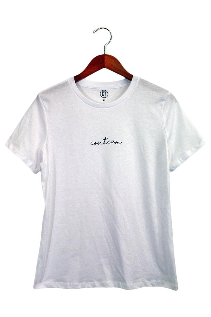 Women's Jersey Tee in White