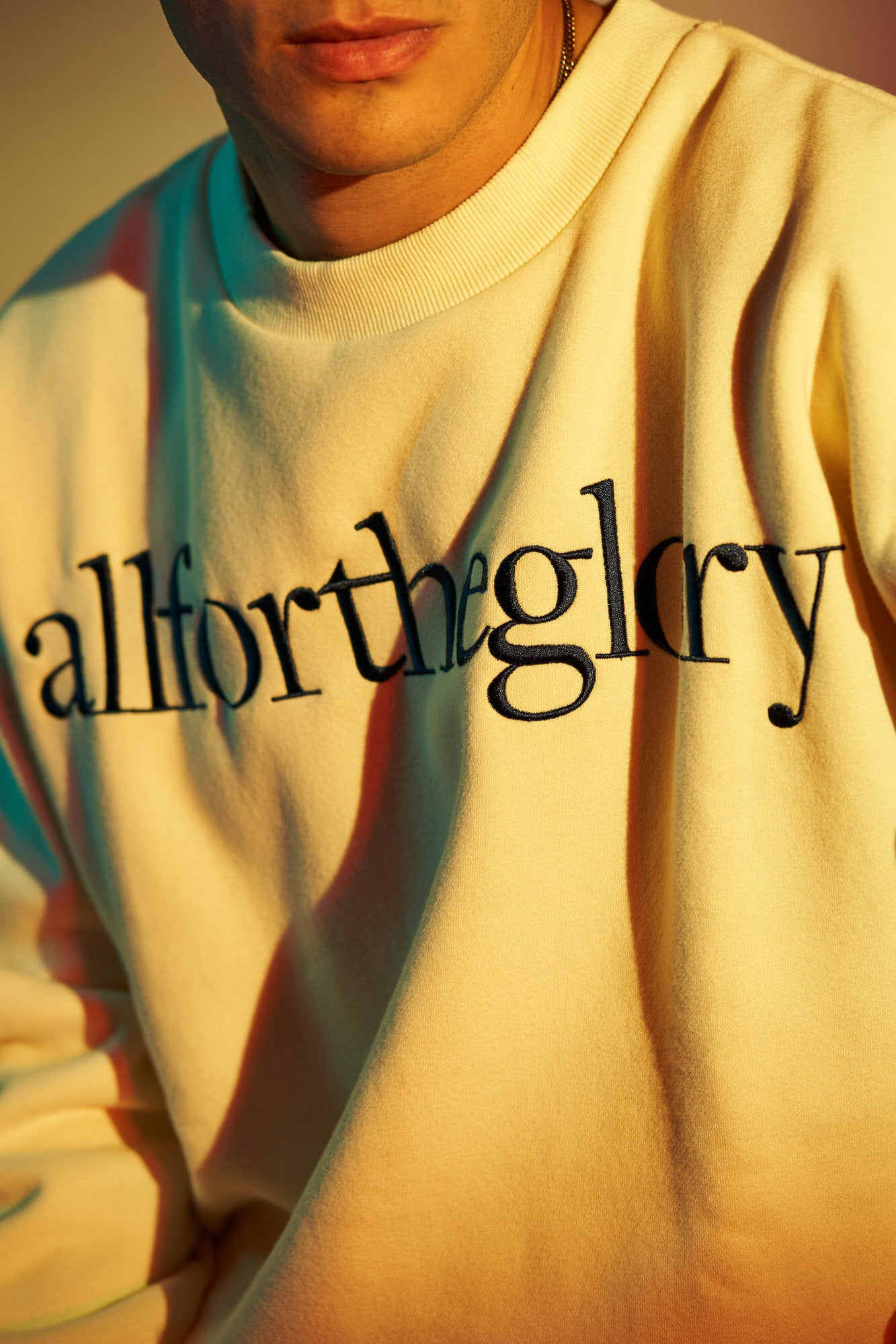 All For The Glory Crewneck