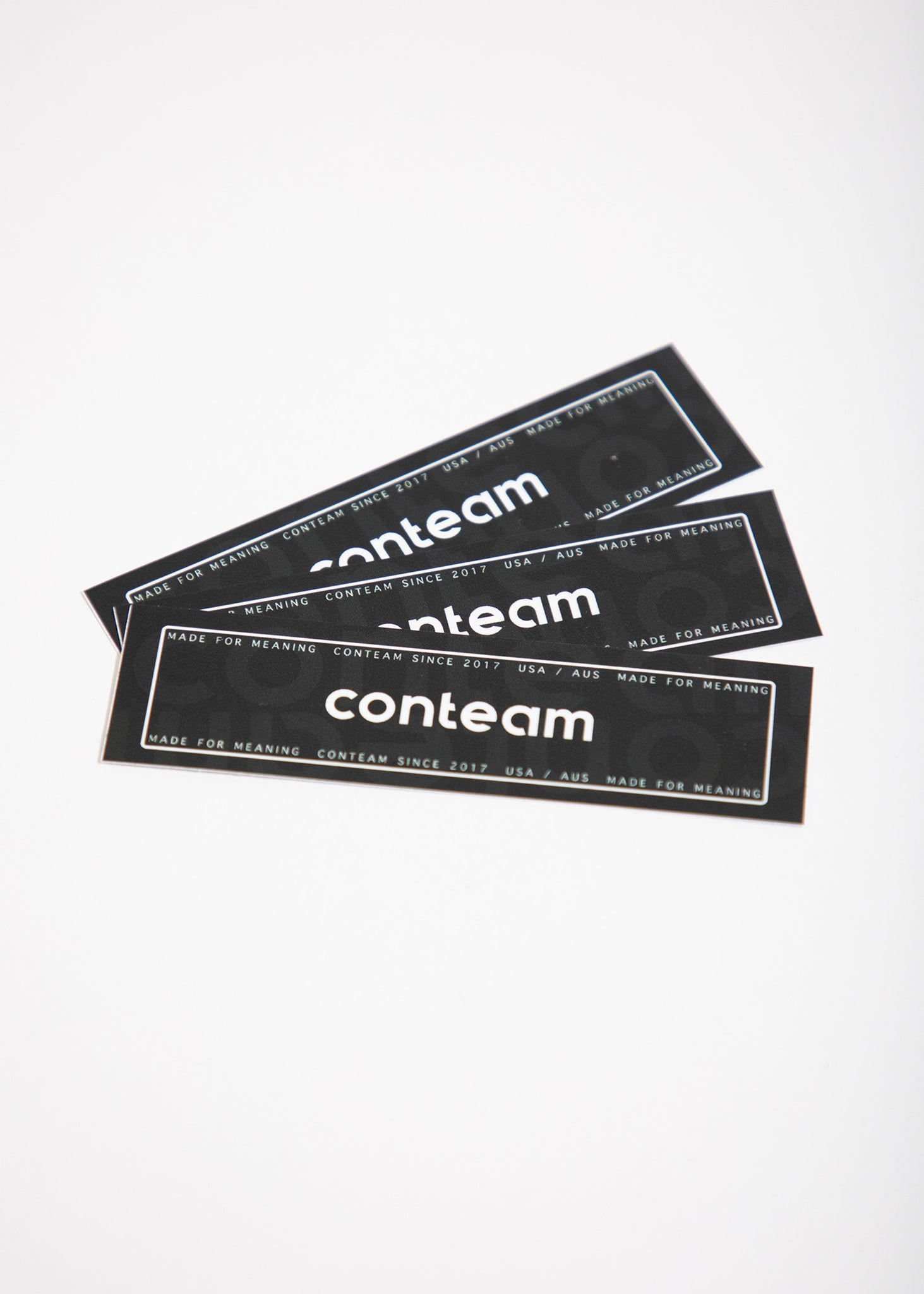 Conteam Decal (3 Pack)
