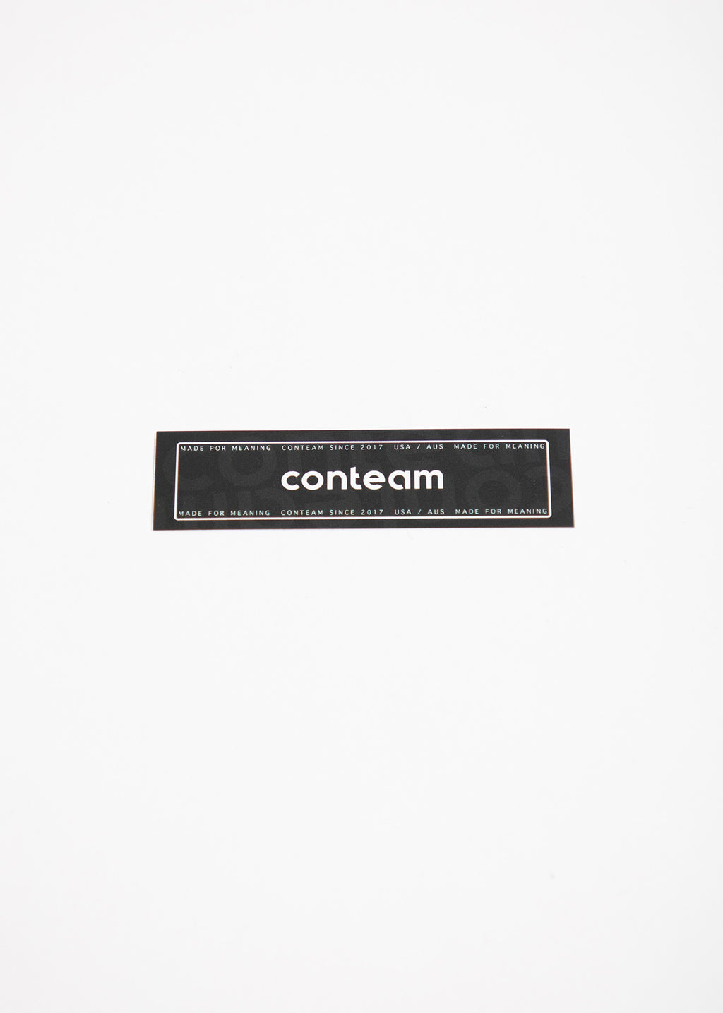 Conteam Decal