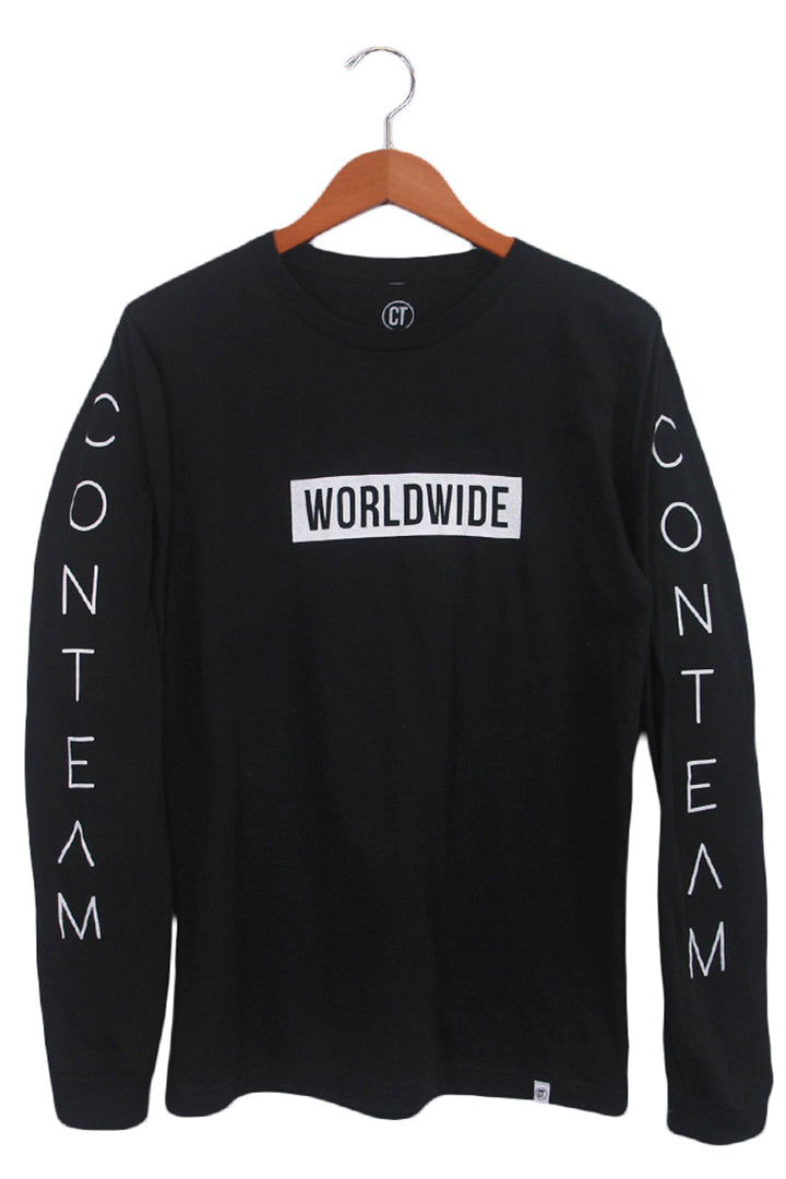 Worldwide Long Sleeve in Black