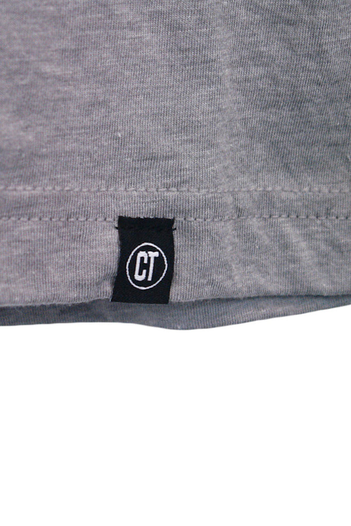 Worldwide Long Sleeve in Athletic Grey