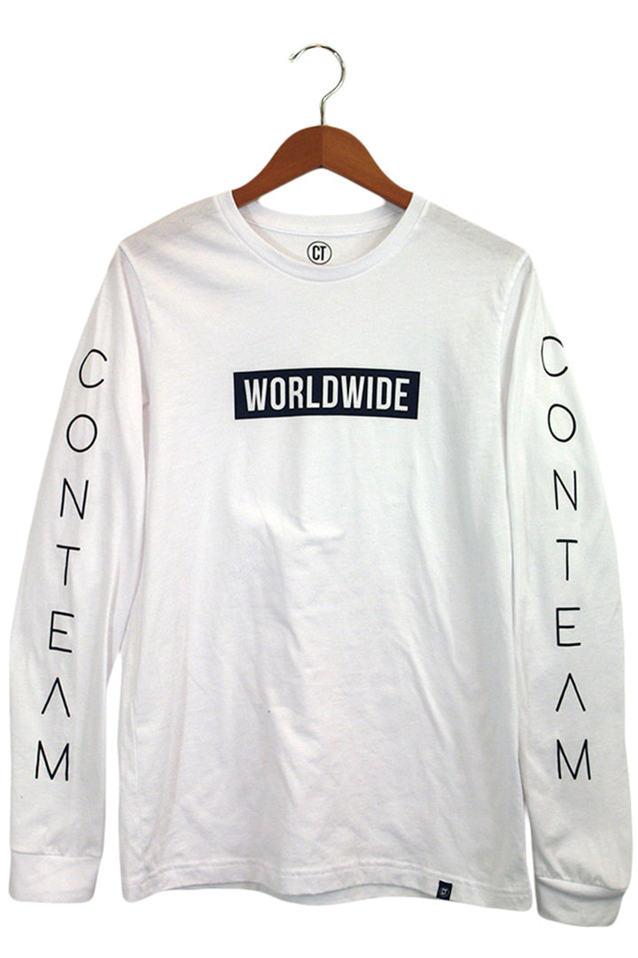Worldwide Long Sleeve in White