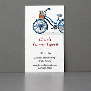 Bicycle Business Card, Sets of 50
