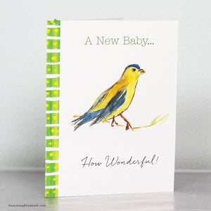 Little Bird New Baby Card