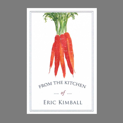 Farm to Table Carrot Bookplates