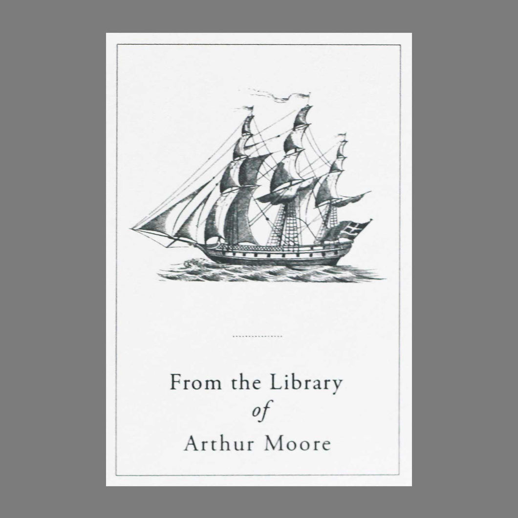 Classic Ship Bookplate