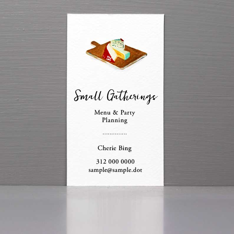 Business Card for Caterer, Business Card for Chef