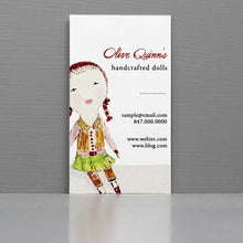Rag Doll (large) Business Card
