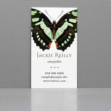 Butterfly Business Card, Wicca Business Card