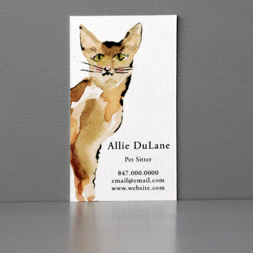 Cat Business Card, Sets of 50