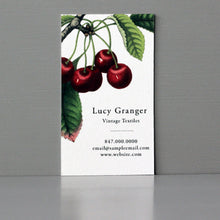 Cherries Business Card, Sets of 50