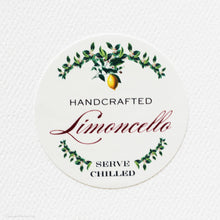 "Limoncello Labels - Garland Design 2"" ROUND"