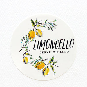 "Limoncello Labels - 2"" ROUND"