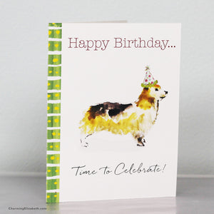 Corgi Birthday Card
