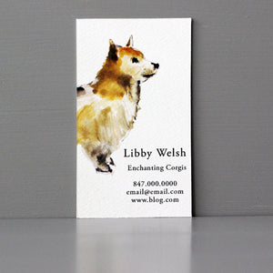 Corgi Business Card, Sets of 50