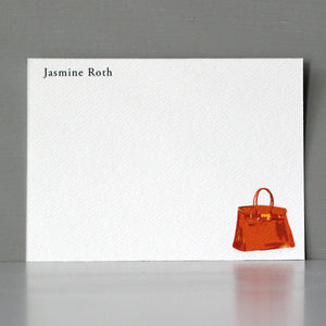 Orange Purse Note Set, Flat Cards