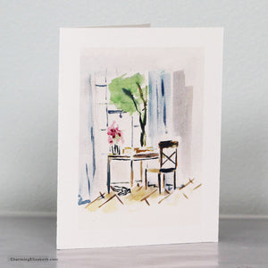 South of France Desk Card