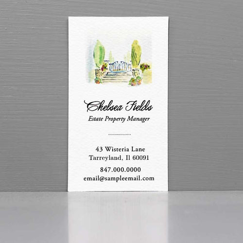 Business Card for Gardener, Business Card for House Manager