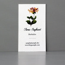 Antique Floral Business Card
