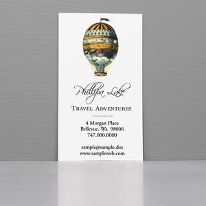 Hot Air Balloon Business Card, Calling Card