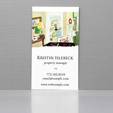 Interior Designer Business Card, Stage Designer Business Card