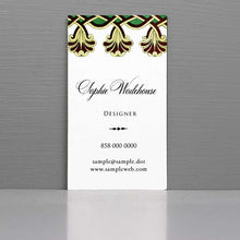 Elegant Business Card with Period Styling