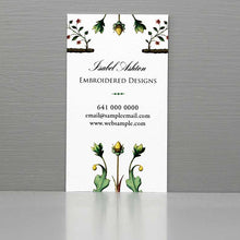 Jane Austen Regency Style Business Card