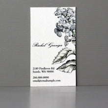 Leaves Business Card, Sets of 50