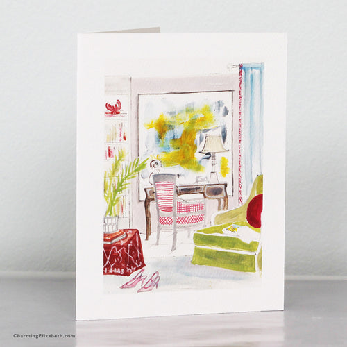 London Townhouse Card