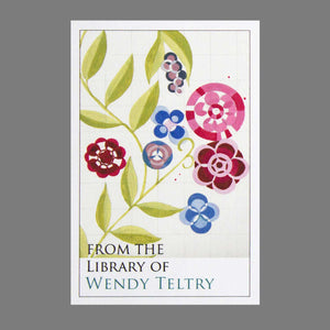 Stylized Floral Bookplates