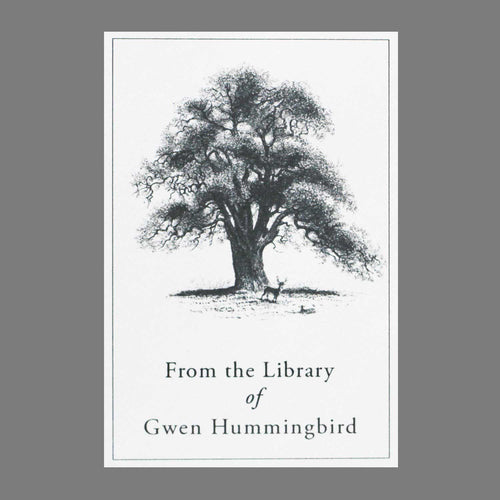 Classic Oak Tree Bookplates