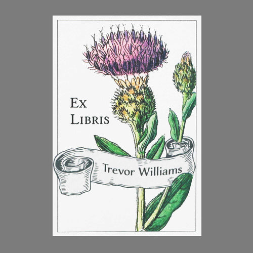 Purple Thistle Bookplates