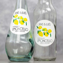 Personalized Round Limoncello Labels