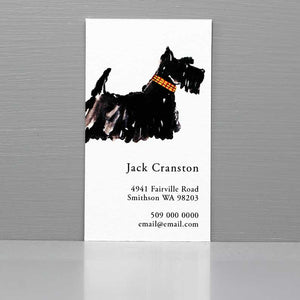 Scottish Terrier Business Cards, Scottie Business Cards