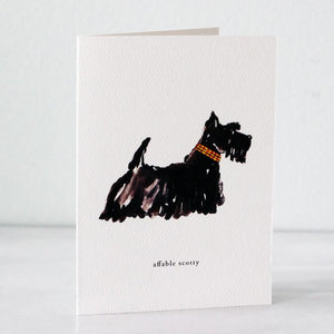 Scotty Dog Card