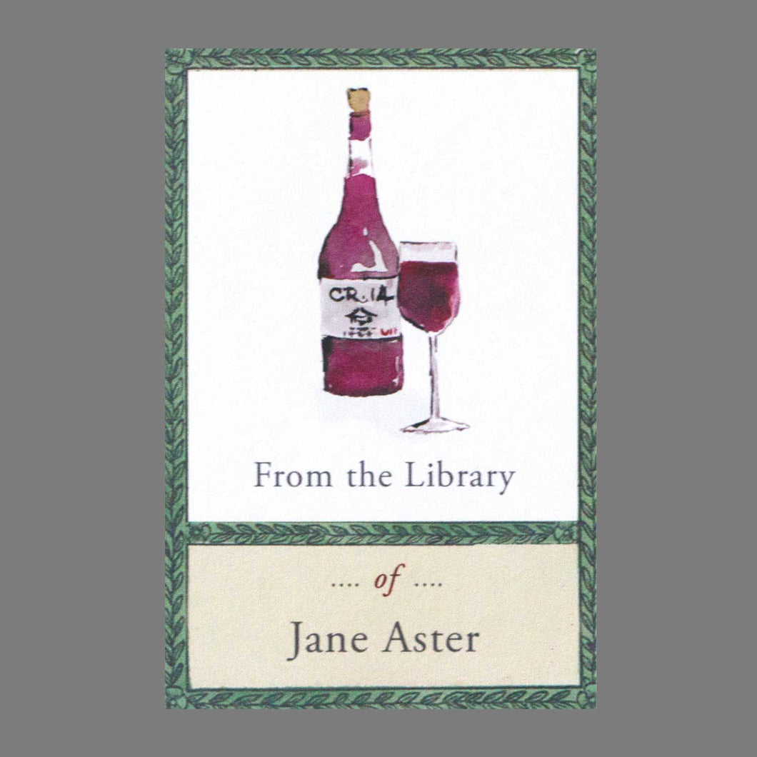 Wine Lover Bookplates