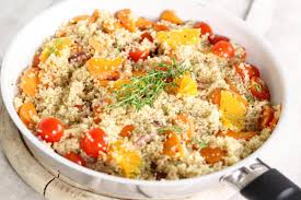 Tuna with couscous