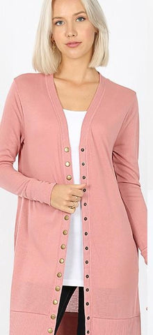 Faux Fur Zipper Front Jacket With Pockets in Rose